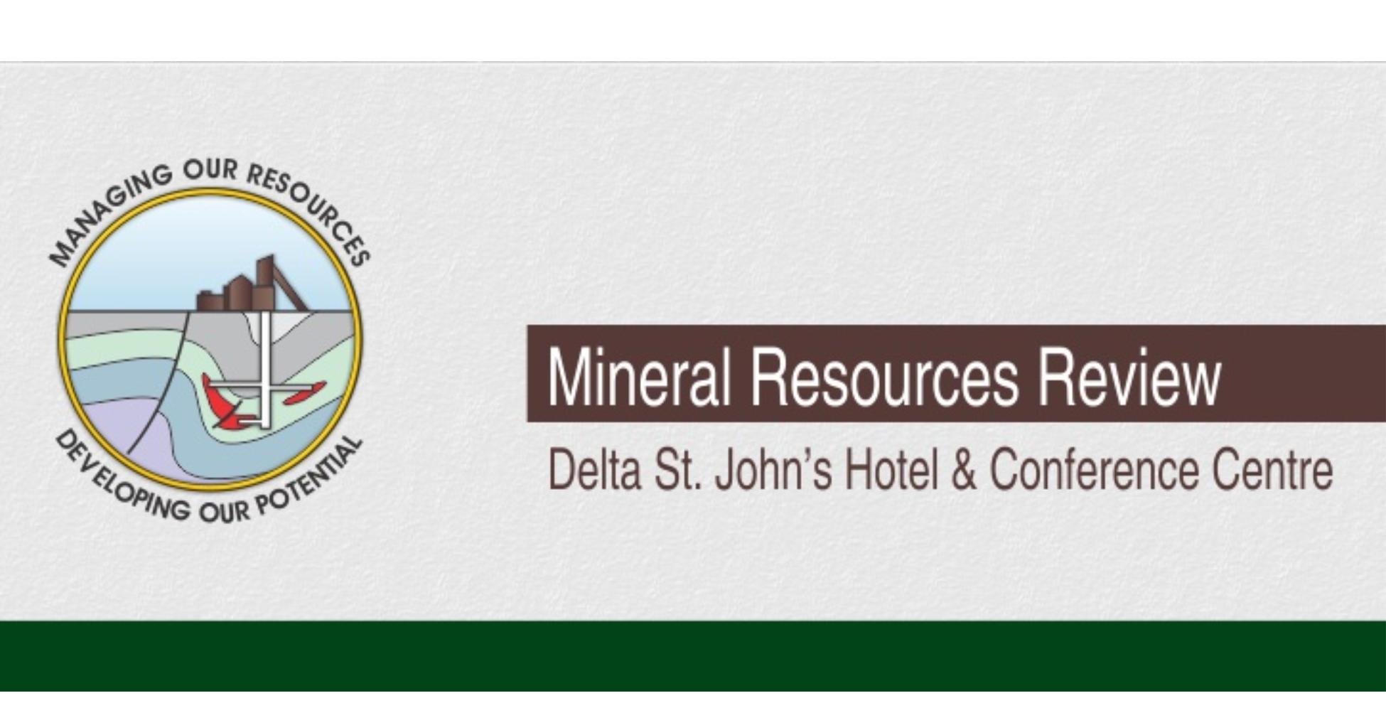 CIM Newfoundland and Labrador Branch, and the Newfoundland and Labrador Department of Natural Resources